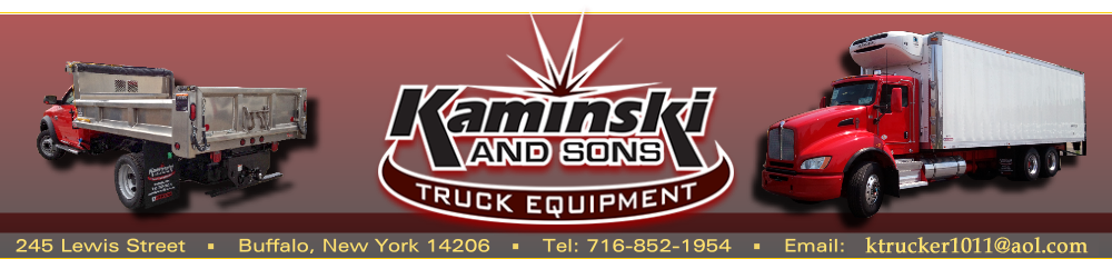 Pickup Lighting, Truck Lighting Kaminski and Sons Truck Equipment Buffalo NY