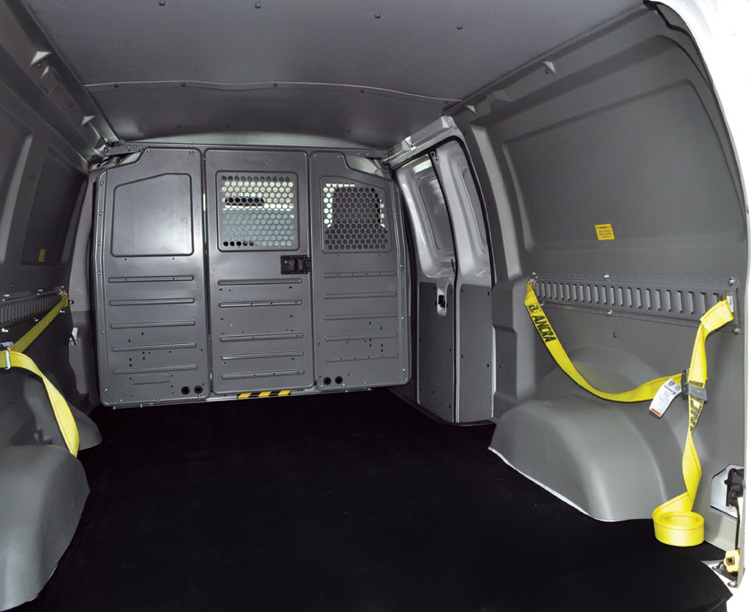Truck Side Boxes >> Van Interior Liners Kaminski and Sons Truck Equipment Buffalo NY